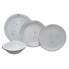 Emsan Pera 24 Parça Porselen Yemek Takımı 3 Renk Seçenek Nakit 299